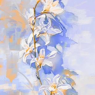 Morning Blooms Digital Print by The Print Studio,Digital
