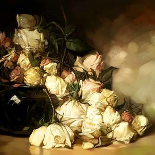Vintage Flower - 22 Digital Print by The Print Studio,Digital