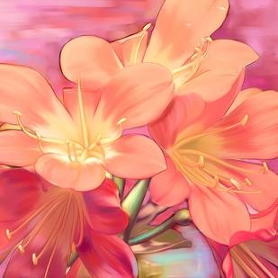 Flowers - 44 Digital Print by The Print Studio,Digital