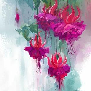 Water Colour Bloom - 84 Digital Print by The Print Studio,Digital