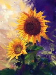 Sunflowers -124 Digital Print by The Print Studio,Digital