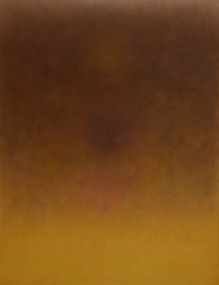 Untitled by Pandit Khairnar, Minimalism Painting, Oil on Canvas, Brown color
