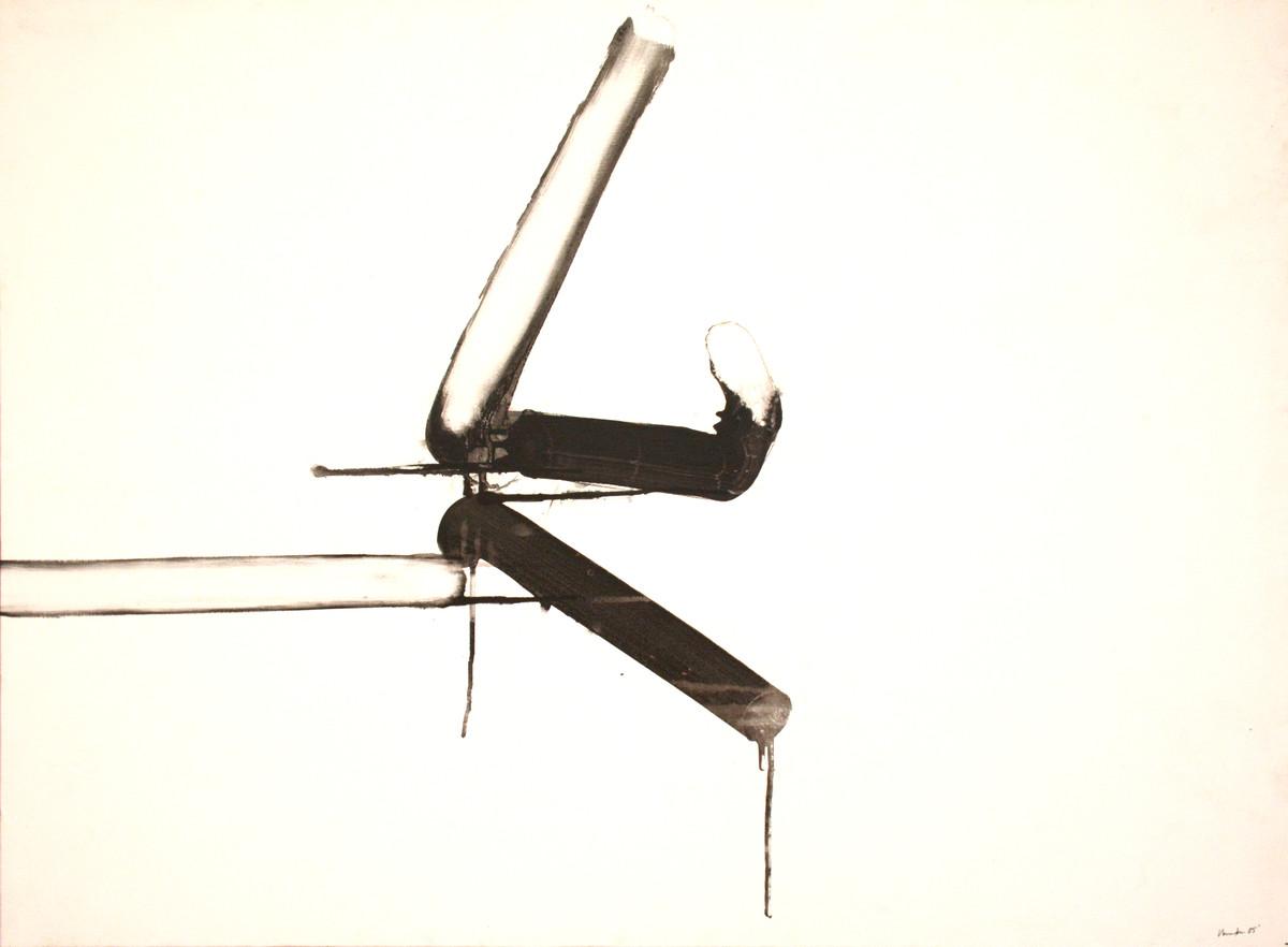 Untitled by Vanita Gupta, Minimalism Painting, Acrylic on Canvas, White color