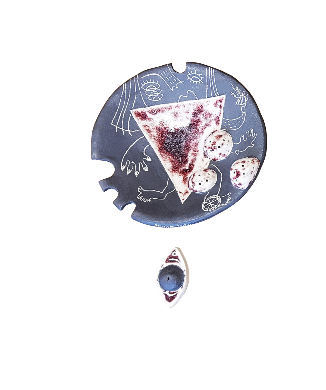ALL EYES ON YOU 2 by Srinia Chowdhury, Art Deco Sculpture | 3D, Ceramic,