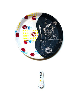 Untagged 02 by Srinia Chowdhury, Art Deco Sculpture   3D, Ceramic,