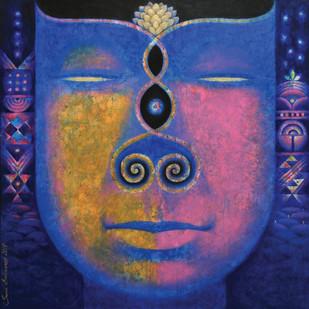 Santulan-1 Digital Print by Sunil Balkawade,Expressionism