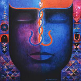 Santulan-3 Digital Print by Sunil Balkawade,Geometrical