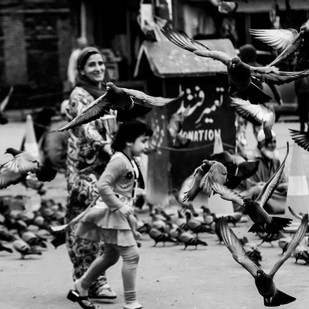 Kashmir, before the clampdown by Ranu Jain, Image Photography, Digital Print on Paper, Gray color