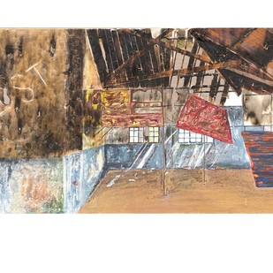 Abandoned Dreams Digital Print by Meena Pathak,Expressionism