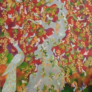 Kalpataru Digital Print by Chaitali Chatterjee,Expressionism