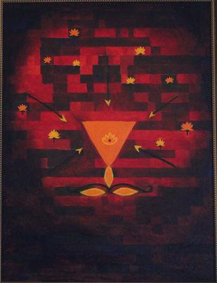the Eternal Digital Print by Mallika Bulusu,Conceptual