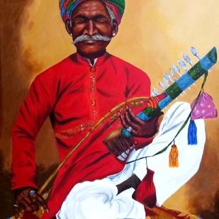 Colors of Rajasthan Digital Print by Cheryl Monis,Impressionism