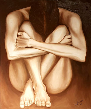 Solitude Digital Print by Meghna Rao,Expressionism