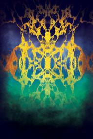 Ocean of Galaxy by Leya Srinivas, Digital Digital Art, Digital Print on Canvas, Blue color