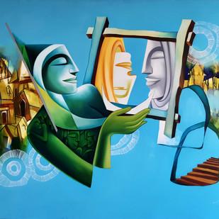 Dreams 1 Digital Print by Jai Srivastava,Fantasy