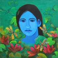 Shivani soni acrylic on canvas 2019 24x24 35k mcp6091