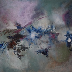 Infinite cosmos Digital Print by Rinden,Abstract