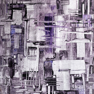 Old City Digital Print by A.R.Ramesh,Abstract