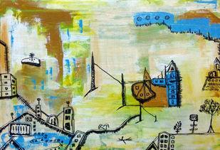 Vision 3 Digital Print by riddhima sharraf,Expressionism