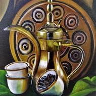 Dallah arabic coffee pot