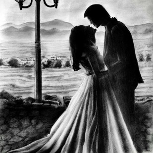 Marriage - A Journey For Life. by Aadit Punamia, Illustration Drawing, Pencil on Paper, Gray color