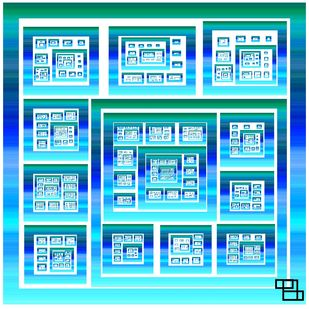 box of infinity by Arvind A, Digital Digital Art, Digital Print on Paper, Cyan color