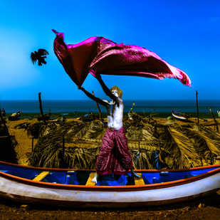 THE HUNTER by Sandeep Dhopate, Digital Photography, Digital Print on Archival Paper,