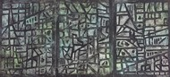 cityscape by KASHYAP PARIKH, Abstract Painting, Acrylic on Board,