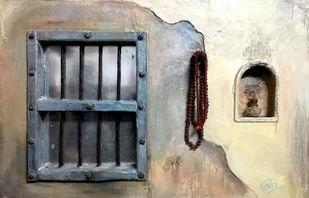 Window by Sumit Mishra, Art Deco Sculpture   3D, Mixed Media,