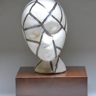 Binds by Meenakshi Garodia, Art Deco Sculpture | 3D, Ceramic, Dove Gray color