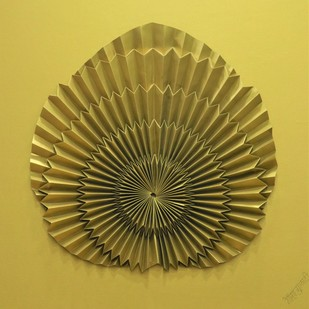 Born to Fly by Asha Gulati, Art Deco Sculpture   3D, Hand Cut Paper, Roti color