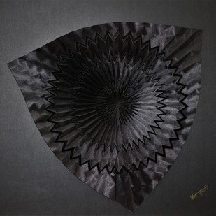 Just for You by Asha Gulati, Art Deco Sculpture | 3D, Hand Cut Paper, Mine Shaft color
