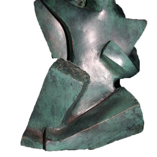 Stolen Moment by Sheela Chamariya, Art Deco Sculpture | 3D, Bronze, Nobel color