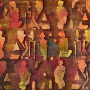 Untitled by Zalak Bheda, Expressionism Painting, Acrylic on Canvas,