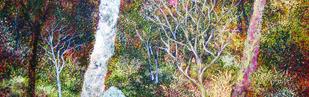 Untitled by Surya Prakash, Expressionism Painting, Acrylic on Canvas,