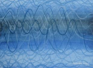 Impulse-I Digital Print by JEETENDRA KUMAR,Abstract