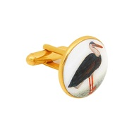 SIGNATURE PELICAN CUFFLINKS by Ikka Dukka Studio Pvt Ltd, Contemporary Button/Cufflink