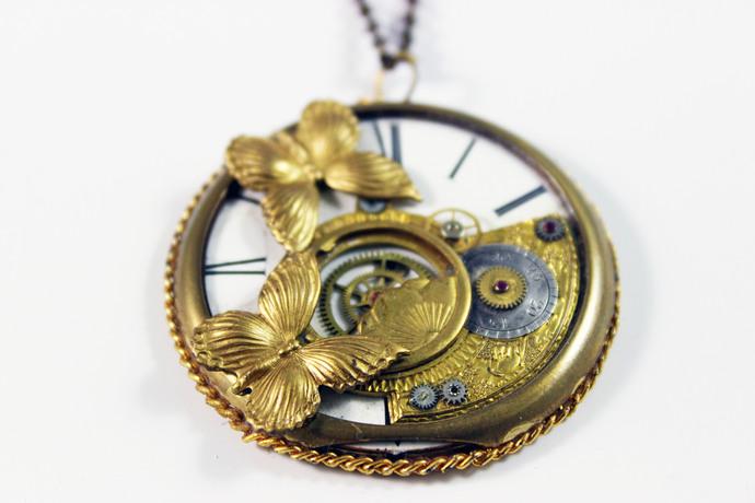 Primavera by Absynthe Design, Art Jewellery Pendant