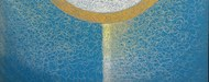 Chetan V by Namita Malik, Abstract Painting, Oil on Canvas, Blue color