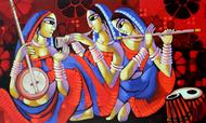 Music 1 Digital Print by Sekhar Roy,Decorative