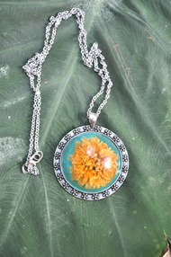 Marigold with Silver Frame by Alankaara India, Bangle