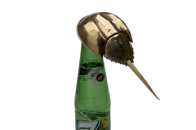 Horseshoe crab bottle opener