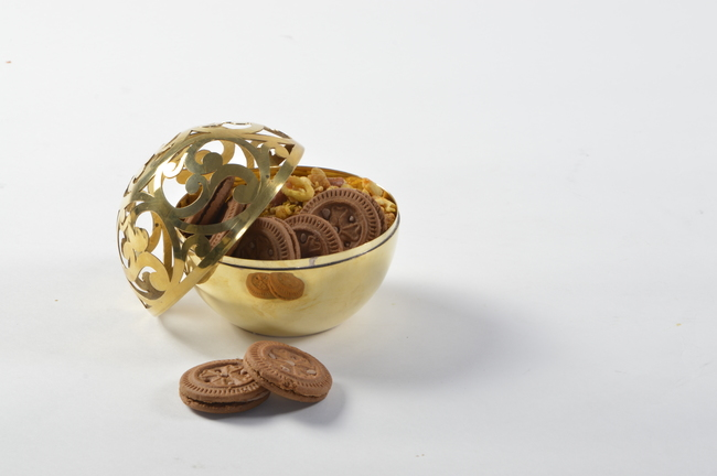 Sandook sphere bowl n vase br %281%29
