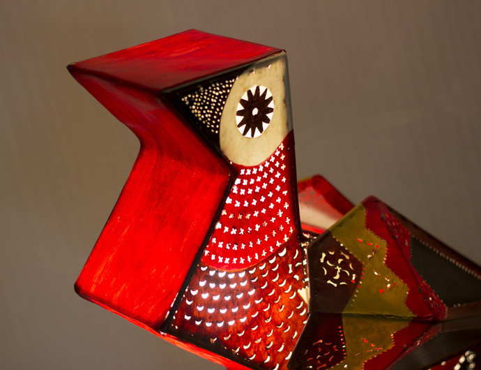 Kite Bird Lamp Floor Lamp By Sahil & Sarthak