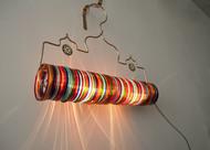 Thief of Baghdad Choori Lamp : Multicolor Wall Decor By Sahil & Sarthak