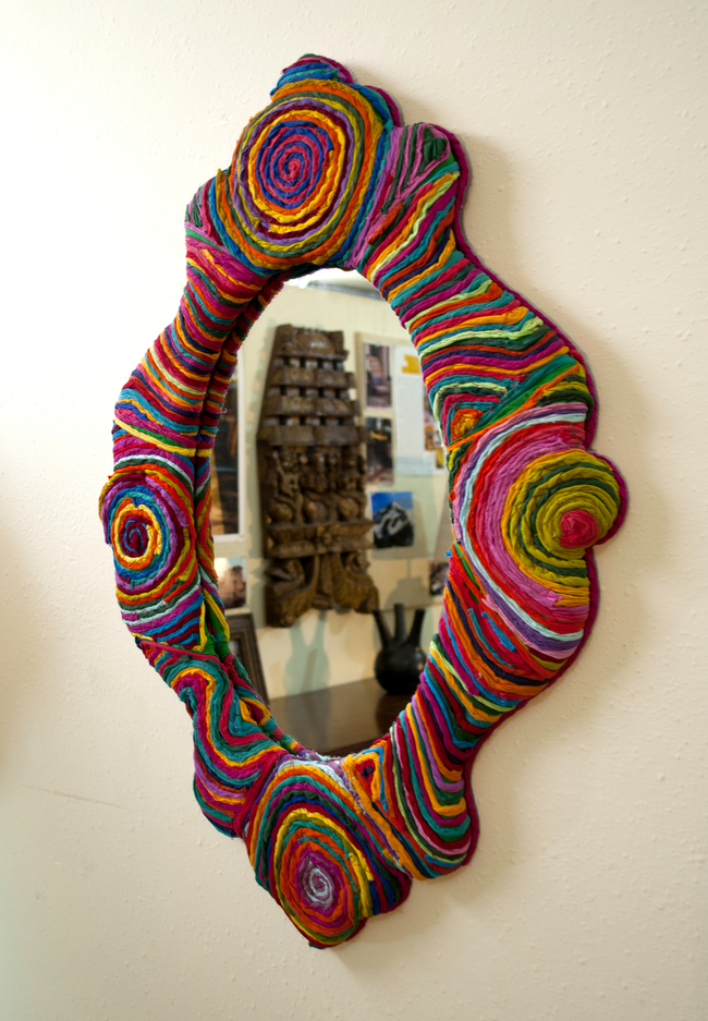 Victorian mirror by sahil   sarthak
