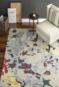 Imperial Knots Multicolor Modern Handtufted Carpet Carpet and Rug By Imperial Knots