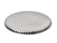 Chevron Round Plate Table Ware By Mudita Mull