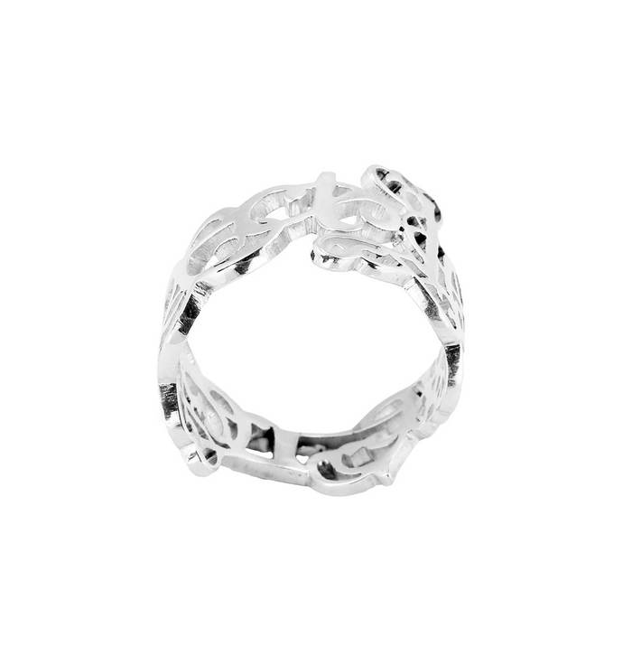 Love & Respect Ring - Large by Eina Ahluwalia, Contemporary Ring