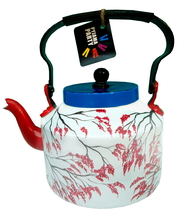 Limited Edition kettle- Japanese Cherry blossom geisha Serveware By Pyjama Party Studio